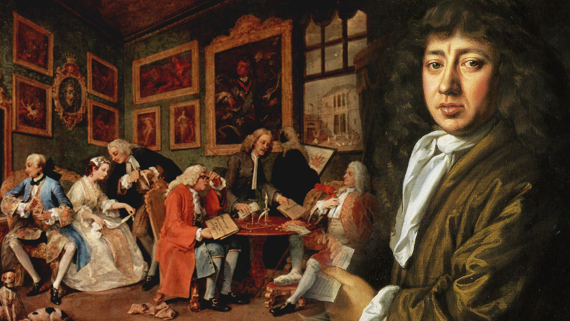 'Pepys and Hogarth' with Andrew Davies