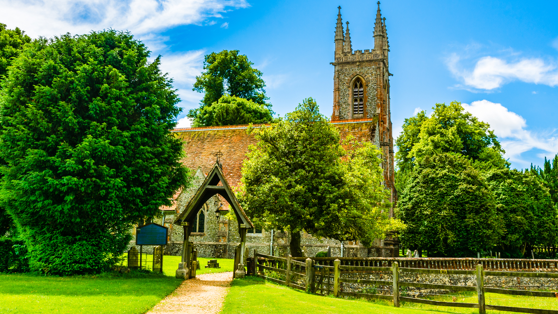 How to read the English Country Church