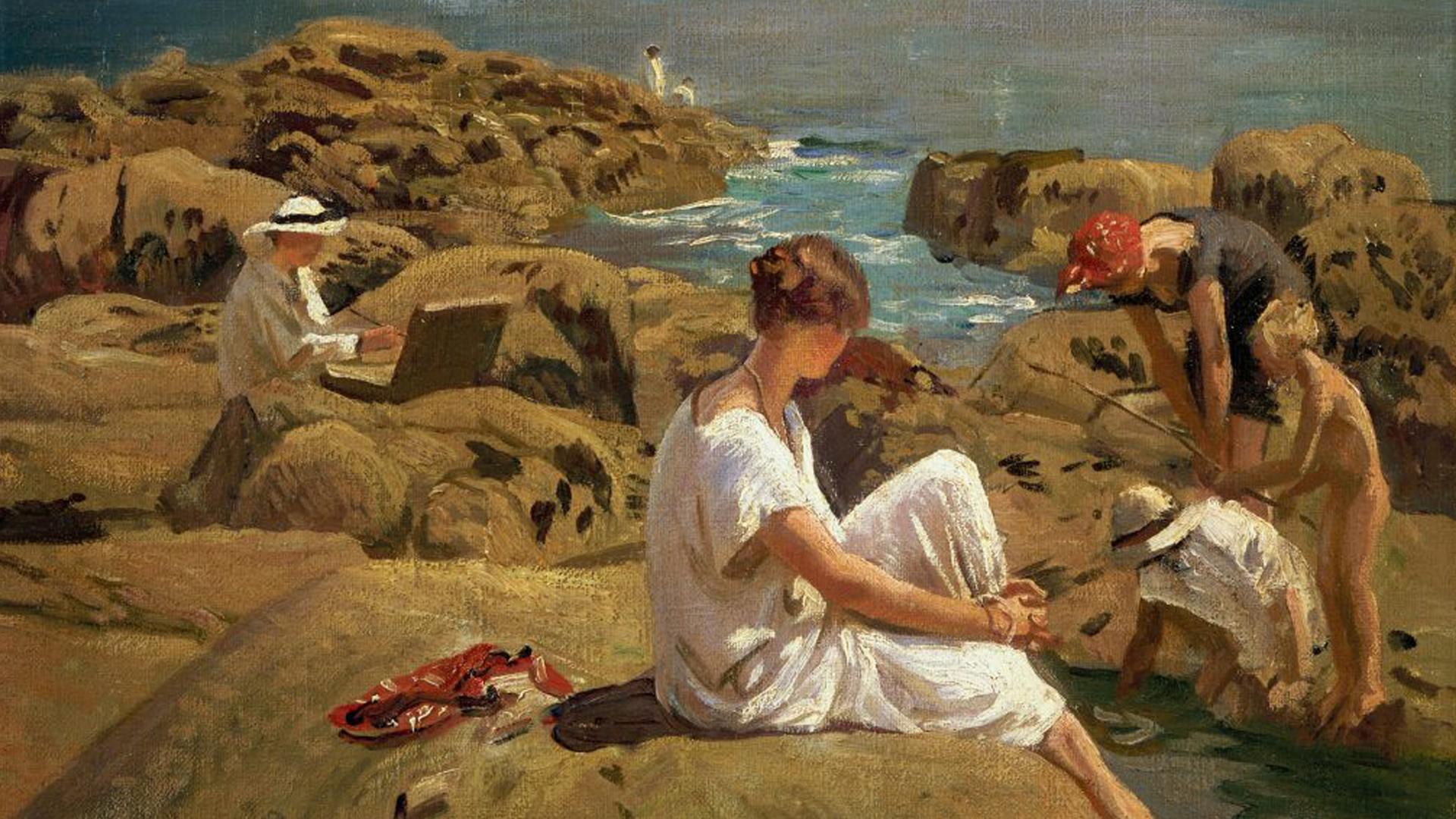 Under an open Sky.  Newlyn and Lamorna, Women Artists 1880-1940