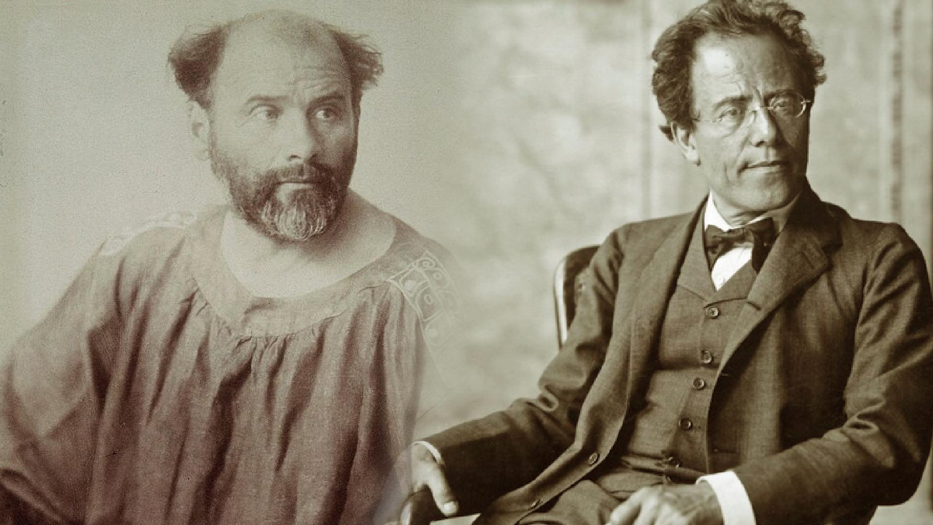 Two Gustavs, Mahler & Klimt
